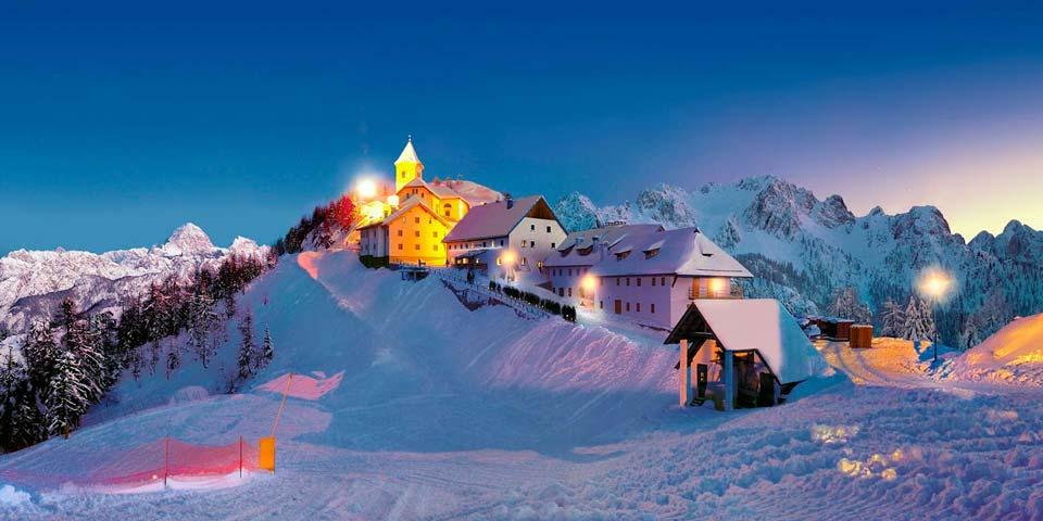 montagna tarvisio piste sci